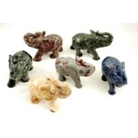 Gemstone Carved Animals