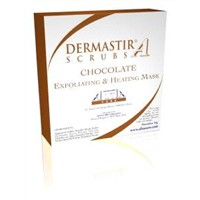 Dermastir Chocolate Exfoliating Heating Scrub + Mask
