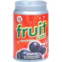 Fruit Can (grape) - Malaysia air freshener gel
