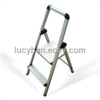 Two-Step Foldable Aluminum Ladders