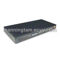 24 Port Unmanaged Gigabit Rack-Mount Switch