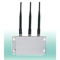 3 antennas cell phone blocker