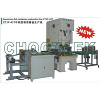Aluminum Foil Container Production Line (CTAC-45T)