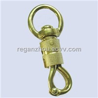 Brass chain connector/snap hook