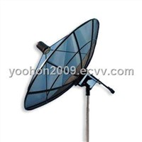 C/Ku-band Aluminum Satellite Mesh Antenna