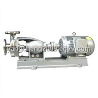 Coarse-grained corrosion-resistant centrifugal pump