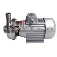 Direct semi-open impeller pump
