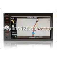 Double Din Car DVD with 6.2inch LCD (CE-6803)