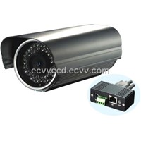 H.264 Compression Infrared Waterproof IP Camera