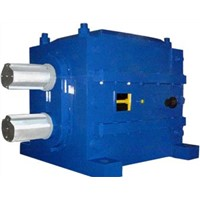 Double helical heavy duty speed reducer