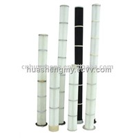 Long Pulse Pleated Bag air filter cartridge