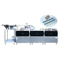 Flat-plate Alu/PVC Blister Packing Machine