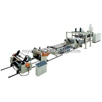 Pet Sheet Extrusion And Co-Extrusion Line  (120/33)
