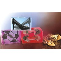 Folding Shoes  Box - PP/PET/PVC