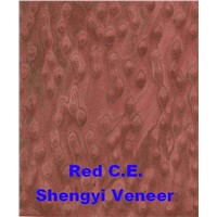 engineered veneer artificial reconstituted veneer Red Cat-Eye