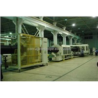 HDPE Double Wall Corrugated Pipe Machine (SBG-1000)