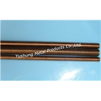 Silicon Bronze Threaded Rod on metric & inch size