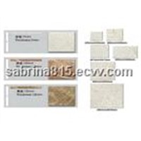 Various Thin Tile of Marbles or Granites