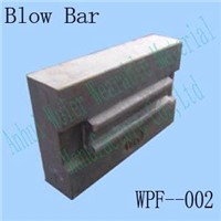 Impact crusher spares, crusher parts, blow bar