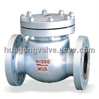 Cast Steel Check Valve ( H44H)