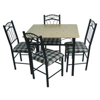Metal Dinning Table & Chair