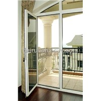pvc casement door