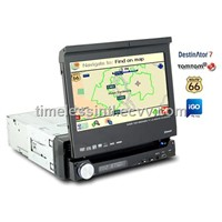1DIN Car GPS DVD Player- All-in-One