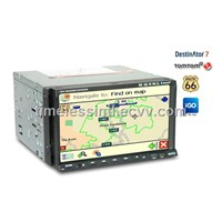 2DIN Car GPS DVD Player with Built-in DVB-T