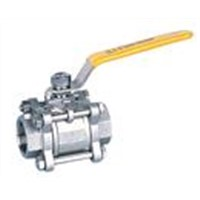 3pc Inside Screw Ball Valve