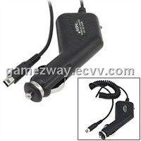 Black Car Cigarette Charger Adapter