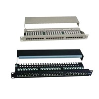 Cat5e Ftp 24-Port Patch Panel