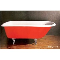 Classical Cast iron bathtub HYQ-I-8