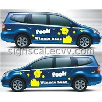 Decoration Vehicle Marking Film-4001 Series Black Glue