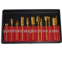 Drill Bits Set for Nail Art-goldplated