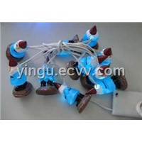 LED Battery Light, 10LED Butteries Battery String Light
