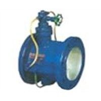 Low Resistance Dashpot Check Valve