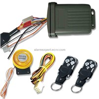 Multi-Function Motorcycle Alarm System with Silent Arming