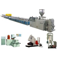 PVC windows and doors profile extrusion machine