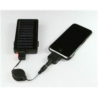 Portable Mobile Phone Solar Charger 900mAh