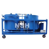 Used Black Oil Regeneration & Oil Purifier Plant