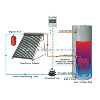 Split Solar Water Heater System