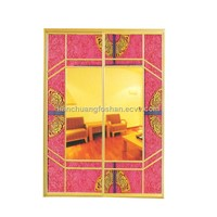 Colored Aluminum Door Series (TC888)