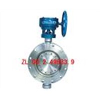 Butterfly Valve-Three Eccentricity Metal Seal