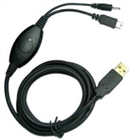USB Charging Cable with Switch (1-1071703-X-02)