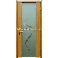 Wooden Interior Glass Door