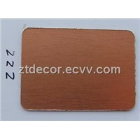 Copper Brushed Hpl Sheet