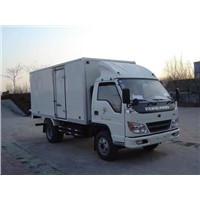 insulated cargo truck