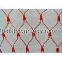 PE Extruded Net Bag with Label