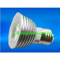 High Power LED Spot Light for E27 3W in Single Color (FG-HP-HR16-E27-16(A6)-1*3W-XX)