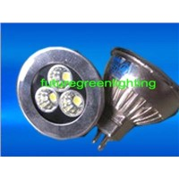 High Power LED Spot Light for MR16 3*1W in Single Color (FG-HP-MR16-05-1W3-XX)